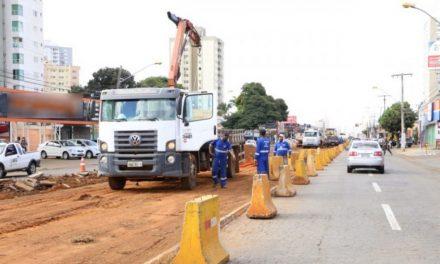Obras do BRT: Prefeitura interdita pista da 4ª Radial