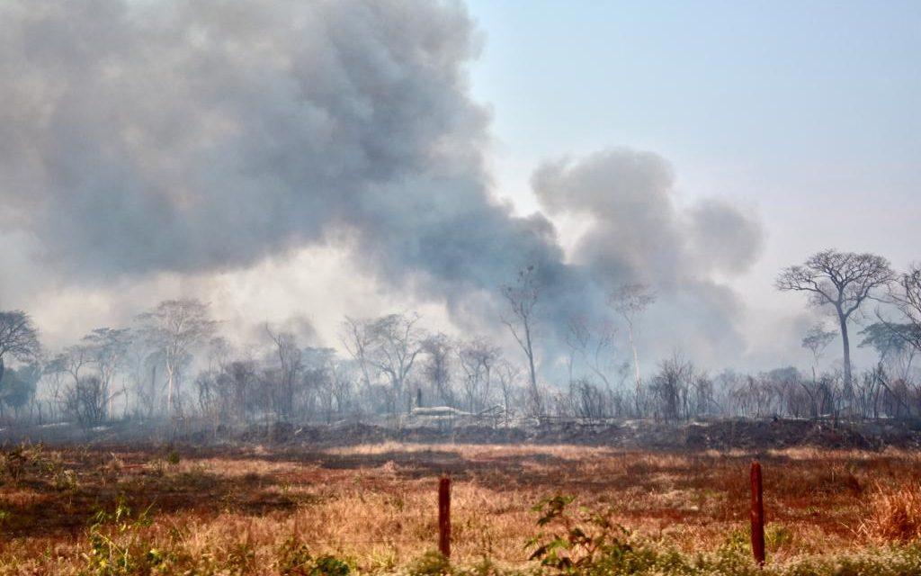 Focos de queimadas aumentam 69% na Região Sudoeste de Goiás