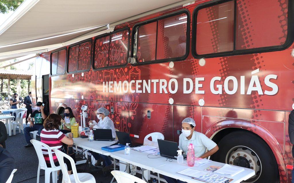 Ônibus do Hemocentro fará coleta no Lago das Rosas