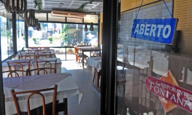 Bares e restaurantes pedem flexibilização de regras