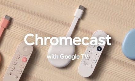 Chromecast agora tem sistema 'smart' Google TV e controle remoto