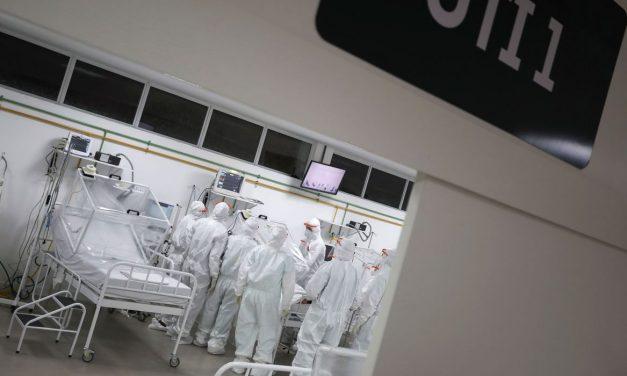 Covid-19: ocupação de leitos na rede privada cai para 57% em agosto