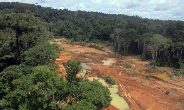 PF faz operação contra exploração ilegal de diamante em terra indígena