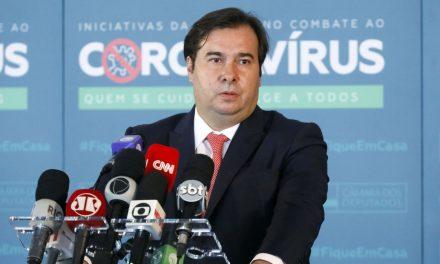 Rodrigo Maia diz que portaria sobre aborto legal é inconstitucional