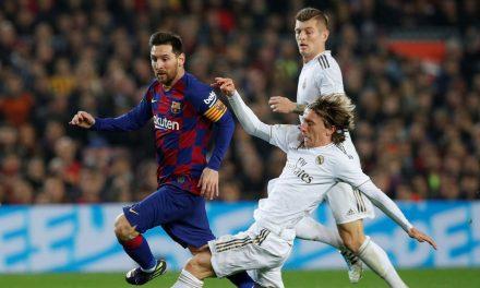 Clássico sem público reflete crise atual de Barcelona e Real Madrid