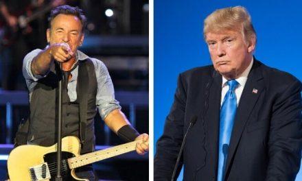 Bruce Springsteen ameaça deixar os EUA se Donald Trump for reeleito