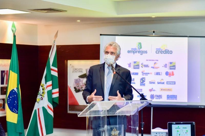 """""""Protocolos sanitários devem ser mantidos"""", defende Caiado"""