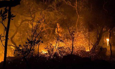 Semad notifica ICMBio sobre uso de retardante de fogo na Chapada dos Veadeiros