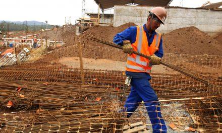Construção tem inflação de 0,95% em abril