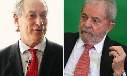 Após sequência de desgastes, Lula e Ciro decidem selar as pazes