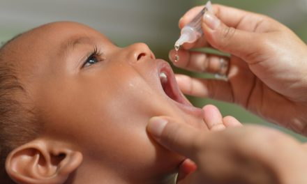 Mais de 60% das crianças ainda não foram vacinadas contra a pólio