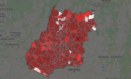 Goiás tem alta em número de casos e mortes por Covid-19