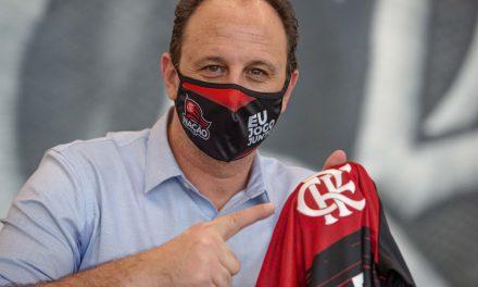 Apresentado, Rogério Ceni cita Zico e promete Flamengo ofensivo