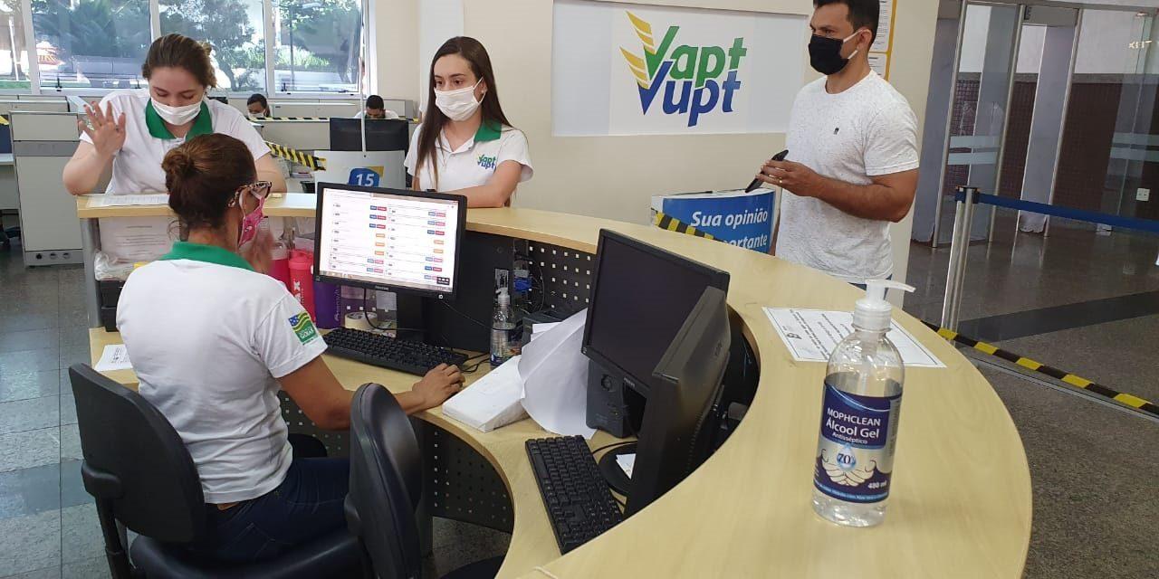 Atendimentos do Vapt Vupt são suspensos em Catalão e Itapaci