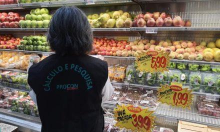 Procon Goiânia aponta variação de até 397,16% nos produtos da ceia de Natal