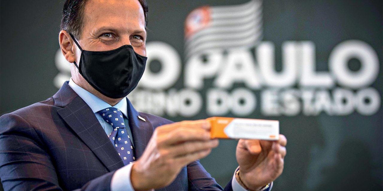 Doria pede a Pazuello que envie até sexta-feira carta para comprar CoronaVac