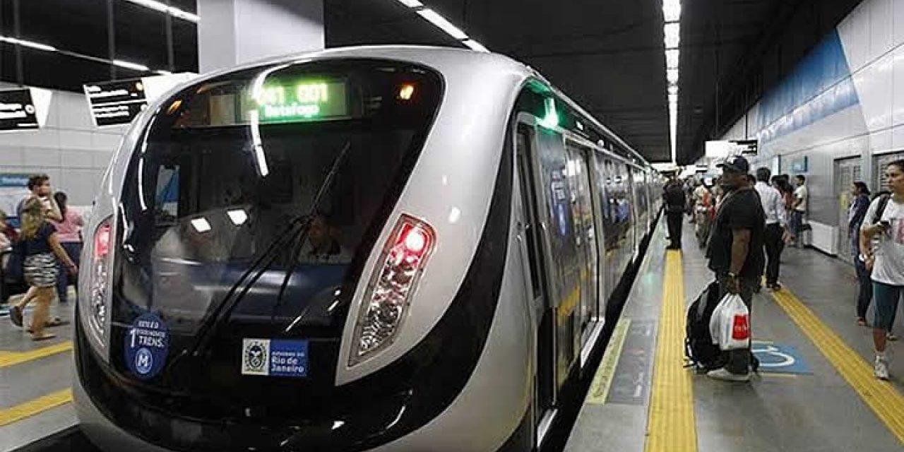 PF investiga propinas na construção do metrô do Rio