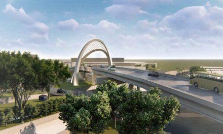 Obras do viaduto do Complexo Viário Jamel Cecílio entram na reta final