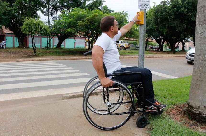 Aprovado uso de recursos das multas de trânsito em acessibilidade de vias públicas