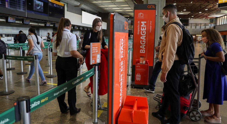 Movimento nos aeroportos deve ser 41% menor neste fim de ano