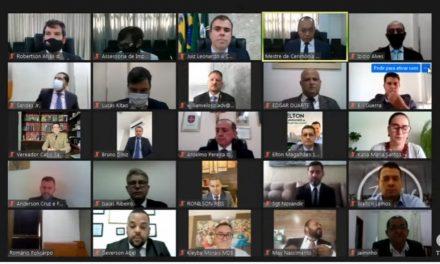 Prefeito, vice, vereadores e suplentes eleitos em Goiânia são diplomados em sessão virtual