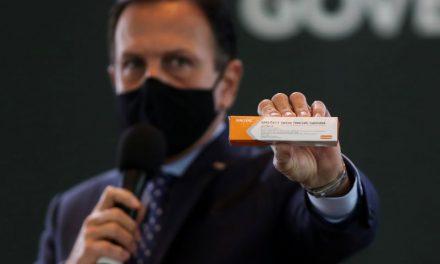 Covid-19: SP vacina a partir de 25 de janeiro