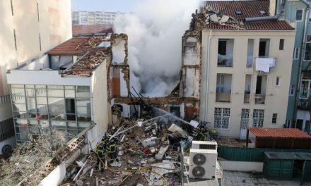Explosão em prédio no centro de Lisboa deixa cinco feridos