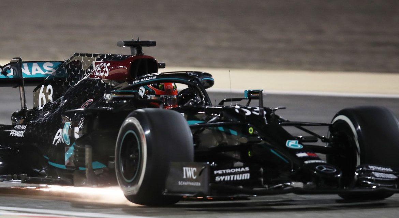 Substituto de Hamilton dita ritmo dos treinos em estreia na Mercedes