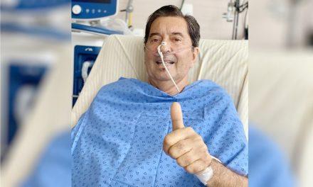 Maguito Vilela apresenta nova infecção nos pulmões, diz boletim médico