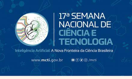 Começa versão presencial da Semana Nacional de Ciência e Tecnologia