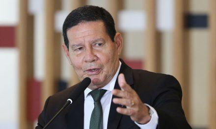 Vice-presidente Hamilton Mourão testa positivo para covid-19