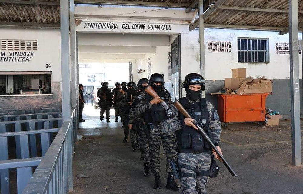 Operação Kaizen: 1.133 detentos de são transferidos