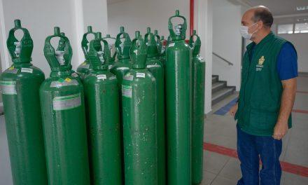 TCE solicita informações sobre estoque de oxigênio em Goiás
