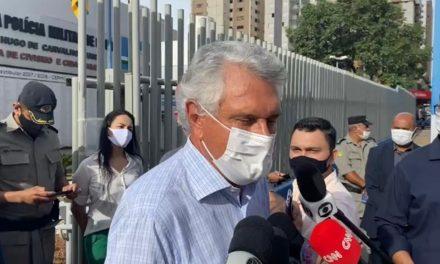 Caiado diz que recebeu ligação do ministro Pazzuelo e que irá a SP buscar as vacinas contra Covid-19