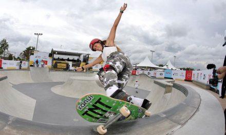 Dora Varella fatura título da 1ª etapa do Circuito Brasileiro de Skate