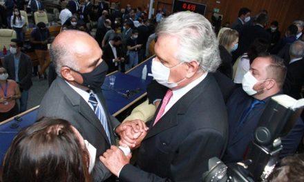 """""""Todas as parcerias possíveis serão construídas"""", diz Caiado sobre Rogério Cruz"""