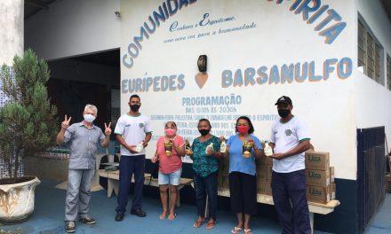 Mesa Brasil Sesc entrega alimentos a instituição beneficente