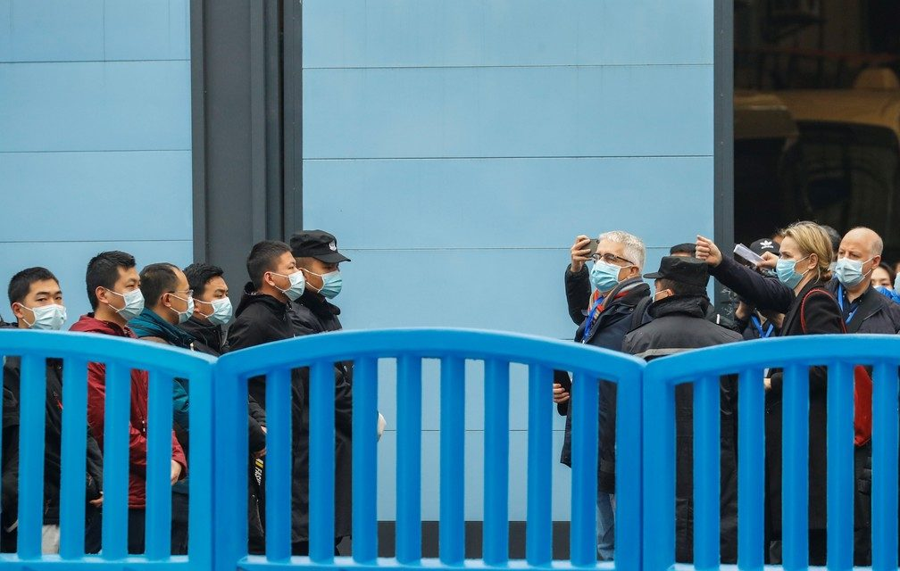 OMS visita mercado de Wuhan na China, primeiro foco da pandemia de Covid-19