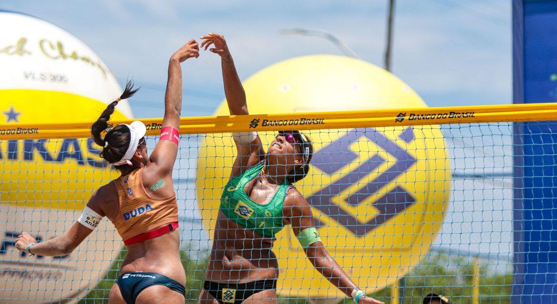 Vôlei de praia: dupla Ágatha e Duda leva quinto ouro no Circuito