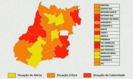 Goiás tem seis regiões em estado de calamidade e segunda onda de Covid-19 mais forte que a primeira, diz Saúde