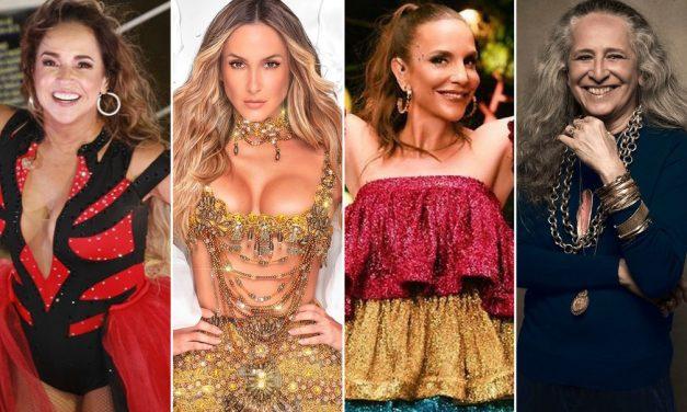 Lives de carnaval: Ivete, Claudia Leitte e Daniela Mercury estão na programação da folia virtual