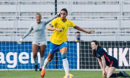 Em alta na seleção feminina, Rafaelle vê derrota injusta para EUA