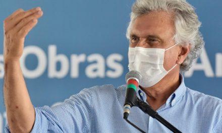 Caiado tem quadro febril e cancela agenda