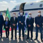Comitiva brasileira é obrigada a usar máscara em Israel