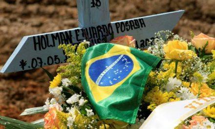 Brasil passa Itália e Bélgica e se torna o 9º país com mais mortes por Covid por milhão de habitantes