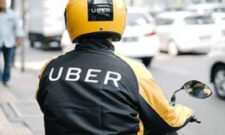Uber iniciará viagens de moto em Goiânia, diz site