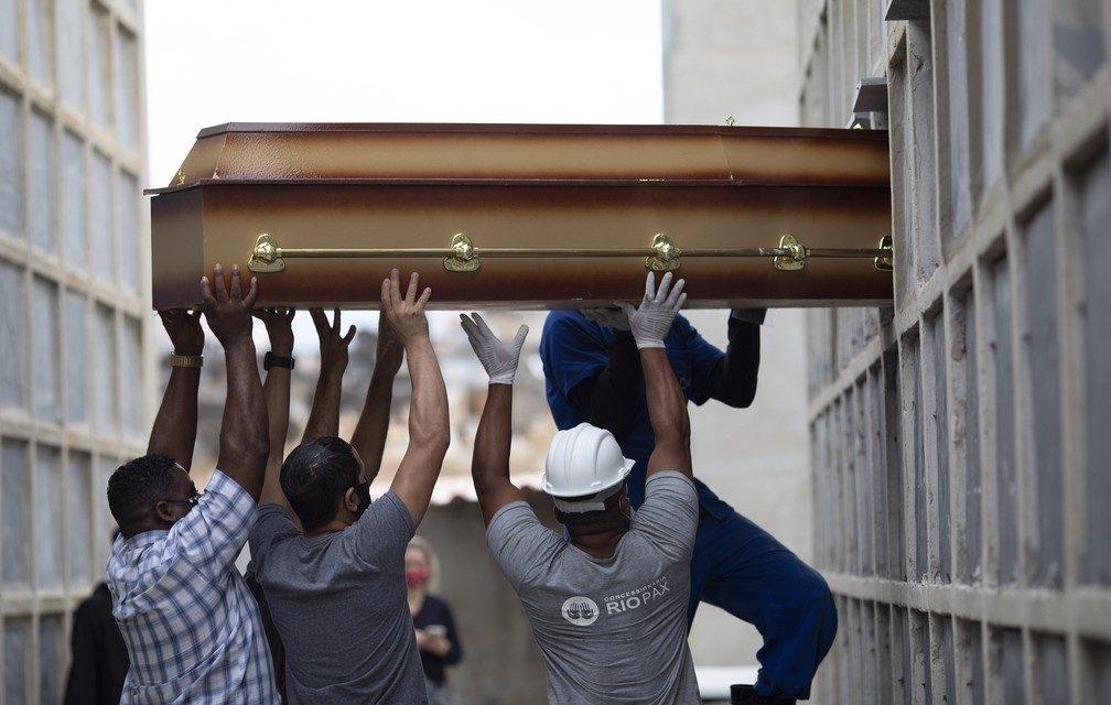 Goiás ultrapassa marca dos 20 mil mortos pela Covid-19