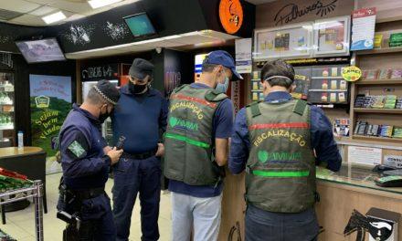Central de Fiscalização de Goiânia fez 109 abordagens em festas no fim de semana