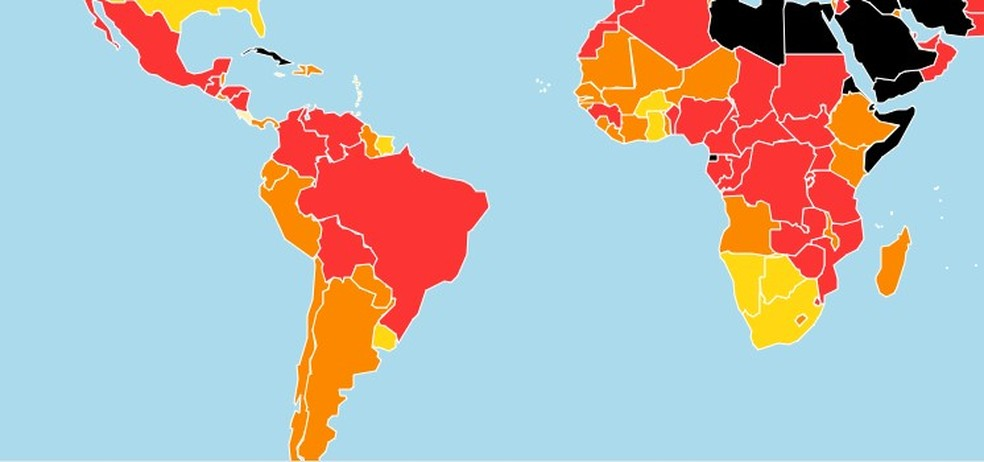 Brasil cai em ranking de liberdade de imprensa e fica em zona vermelha