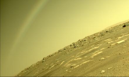 Arco-íris em Marte? Perseverance captura imagem e esclarece mistério